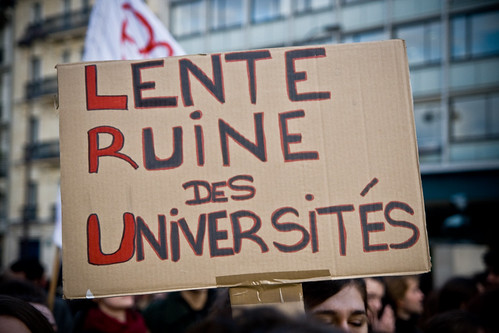 Student Demonstration (07) - 22Nov07, Paris (France)