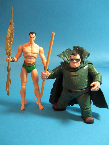 Namor and Mole Man