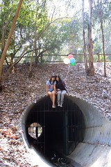 my favorite sewer rats. (confidence, comely.) Tags: friends girl price sisters creek forest balloons woods gate hill tunnel astrid sewer hermana sophia bestfriends drainage lakeforest acosta