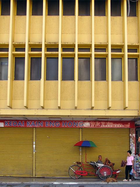 penang street life