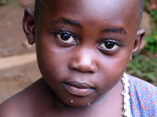 Child in Uganda
