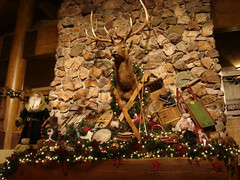 Elk on the Mantel