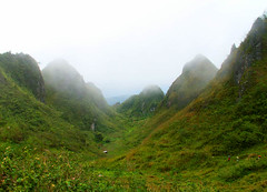 Valley of the Southern Side (Storm Crypt) Tags: trees mountain grass fog philippines peak hills valley cebu grassland mountainrange dalaguete mywinners
