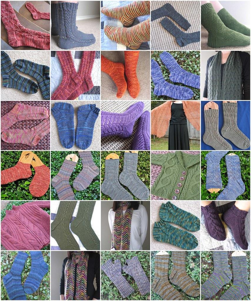 2007 knitting FOs