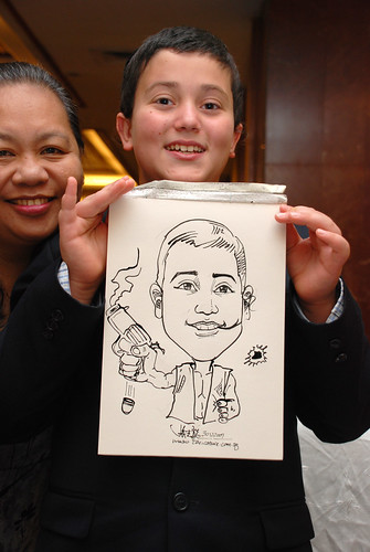 Caricature birthday party 301207 8