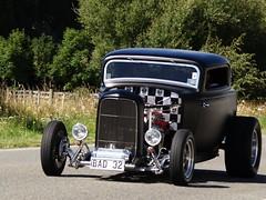 32 Deuce Coupe - bad 32 (wiredkiwis) Tags: road old newzealand summer black classic 1932 cruising chrome nz classics hotrod bankspeninsula 32 coupe deuce hotrods roadster littleriver newzealandhotrods bad32