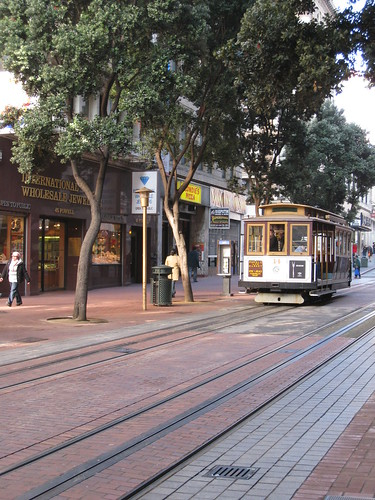 Trolley Car on Powell