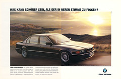 Reklame BMW 7er E38 (1994) (jens.lilienthal) Tags: auto old classic cars car vintage advertising reclame ad voiture advertisement advert older bmw autos werbung reklame voitures anzeige 7er e38 amzeige zeitungsreklame