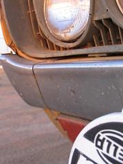 datsun lights (kneesamo) Tags: lake elizabeth pickup 1600 1973 hughes datsun hella butterscotch 620 l20b bulletside pl620