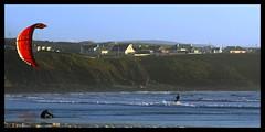 Surfing Lahinch 4 (Gerry Horan) Tags: ireland kite nikon surf clare surfers d200 lahinch gerryhoran irelandlahinchclaresurfsurfingsea
