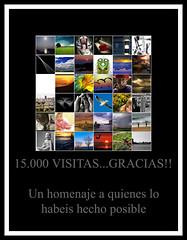 15000 visits,thank you! This is a homage for my visitors (La Vieja Sirena) Tags: poster flickr thankyou gracias visitas homenaje 15000 agradecimiento miscontactos vuestrasfotos