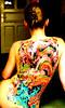 my colourful Backpiece