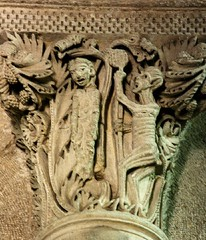 Saulieu Judas (tina negus) Tags: france tree church lucifer carving satan devil hanging romanesque judas treeoflife medievalart saulieu treeofdeath gislebertus