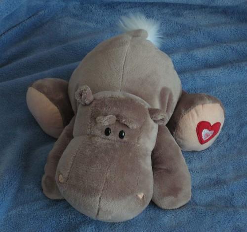 Molde de hipopotamo de peluche - Imagui