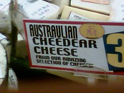 Product of Austraulia