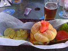 bacon cheeseburger (w/ a fried egg!)