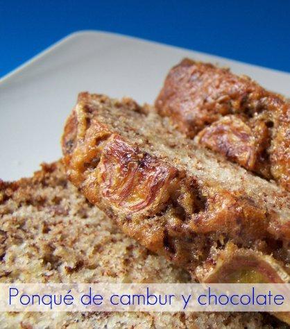 torta de cambur y chocolate 017-1