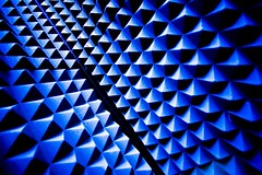 Blue (Thomas Hawk) Tags: sanfrancisco california blue usa abstract triangles pattern unitedstates panel 10 unitedstatesofamerica fav20 levis levistrauss levisplaza fav10