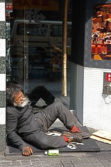 Doorway in Shinjuku (philipjbigg) Tags: travel people tourism japan modern japanese tokyo asia traditional homeless sightseeing streetphotography places adventure journey colourful japaneseculture cultural jobless sociology 21stcentury homelessness hardtimes homelessguy homelessman socialproblem sleepingrough socialissue gaman politicalissue philipbigg philipjbigg