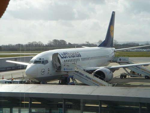 Lufthansa First Flight by nickpiggott@flickr.com