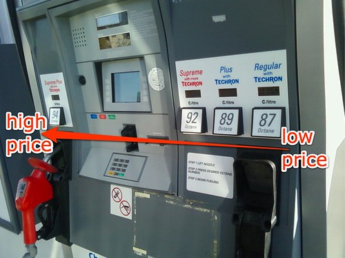 Gas pumps designed to trick you into expensive fuel