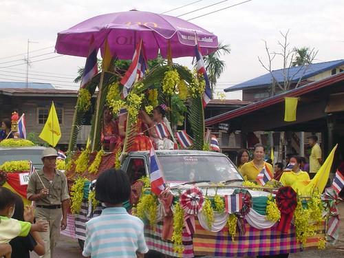 Songkran Festival - Rose Parade - THAILAND วันสงกรานต์