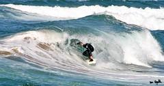 Barrel (Martin´s) Tags: ocean sea azul mar agua surf waves barrel colores verano olas tubo euskadi mundaka espuma