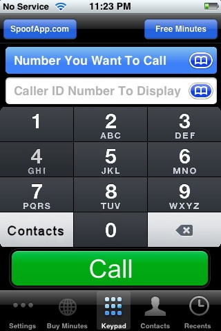 Disguise Your Number App Iphone