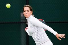 Maria Sanchez (Eric Wolfe) Tags: california usa college sports losangeles unitedstates tennis usc ncaa trojans racquets pac10 mariasanchez original:filename=200801230192jpg