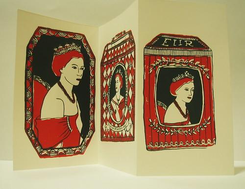 Coronation tin print