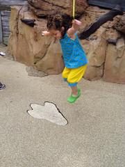 elena jumps at animal kingdom