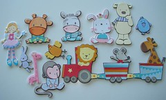 My frame buddies (em borracha) (Mundo a cores) Tags: children infantil criana papel decor decorao borracha molduras aplicaes