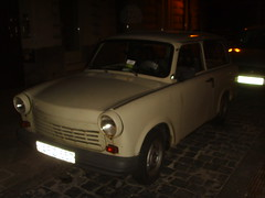 A Trabant in Budapest