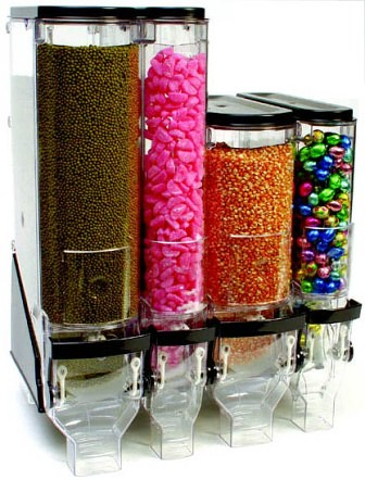 Food Dispensers 10cm and 15cm wide