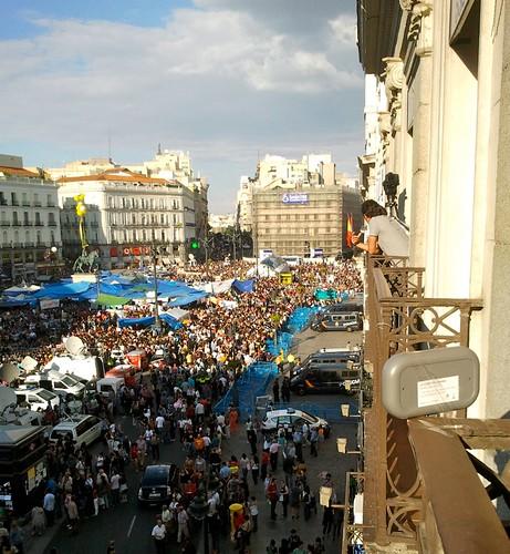 Fonera en #acampadasol