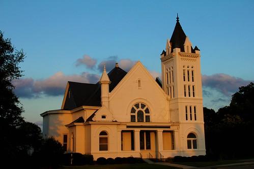 Church in Evening Sun