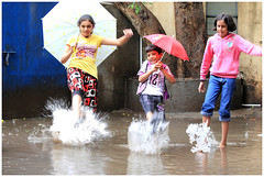 Monsoon has arrived in the city (Amol Makode) Tags: india chicago beautiful rain canon photography 50mm drops interesting indian m monsoon 1855mm f18 pune rains amol 550d 55250 t2i makode 55250mm canont2i ppjun11 amolmakode