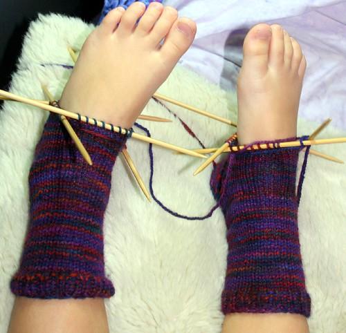 socks, front