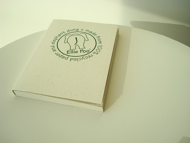 Note book made from elephant dung by net_efekt