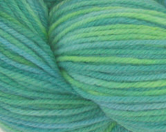 Waterlillies on Rambouillet Worsted - 4 oz (WW)