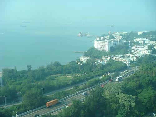俯瞰香港美景