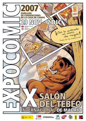 cartel expocomic 2007