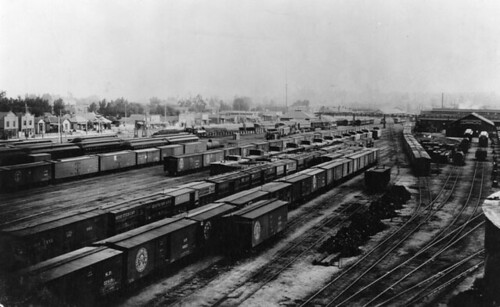 River Station Yard, Los Angeles