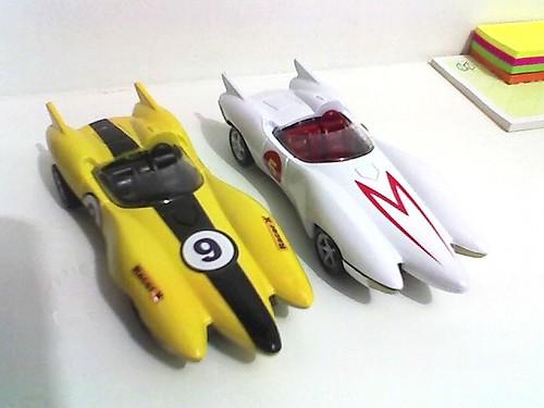 Corredor X e Speed Racer