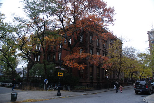 Fall in Brooklyn Heights