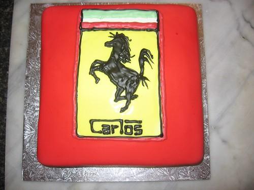 Look it's a fat unicorn on a Ferrari logo : )