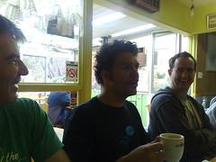 Post Camp Coffee (teamaskins) Tags: camp nerd geek melbourne victoria rails roro railscamp railscamp2