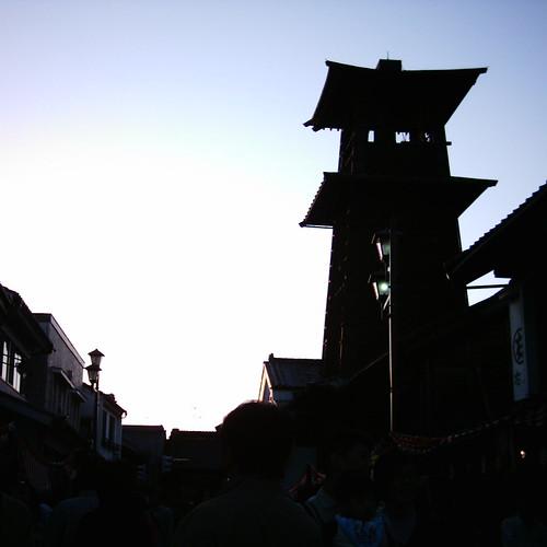 【写真】Toki-no-Kane (The Bell of Time) @ Kawagoe