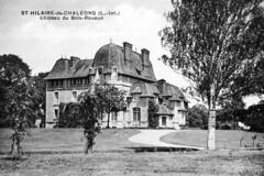 Chateau du Bois-Rouaud3 (pierbou) Tags: ancienne cartepostale sainthilaire chaleons sainthialiredechalons catrespostalesanciennes