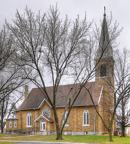 Saint Augustine of Canterbury Roman Catholic Church, in Hecker, Illinois - exterior.jpg
